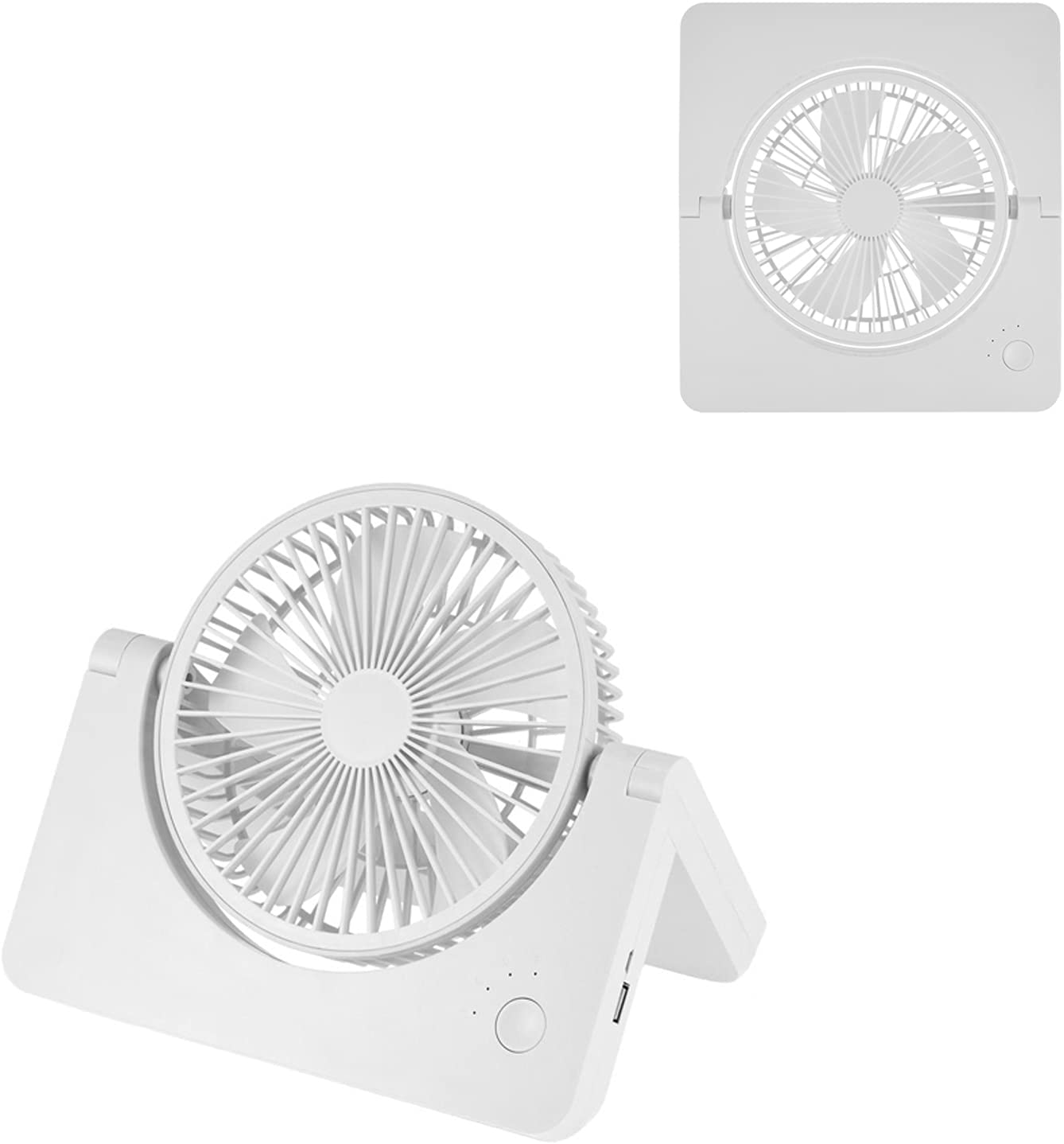 Folding Fans Max 41% OFF Portable rechargeable Cooler Seattle Mall fo mAh 4000 Speed 3