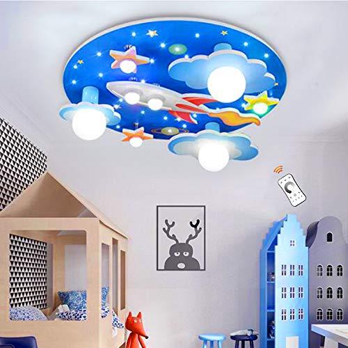 Lámpara De Techo Universe Rocket Star Luces Para Niños Luz De Techo...