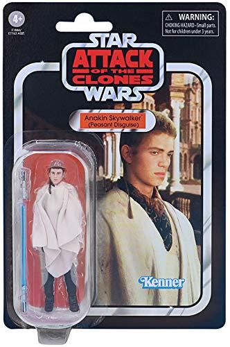 Star Wars: Vintage-Kollektion - E2 - Annakin Skywalker (Bauernverkleidung) - Anakin Wird beauftragt, Senator Padme Amidala nach Naboo zurückzubringen!