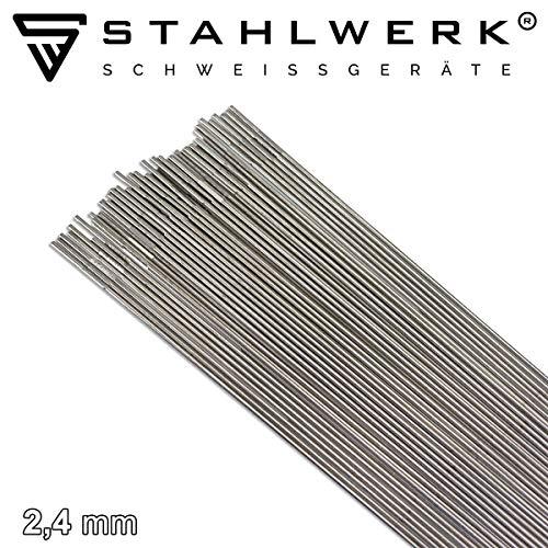 STAHLWERK Schweißstäbe ER307Si Edelstahl hochlegiert/Ø 2,4 x 500 mm / 1 kg WIG Schweißzusatz