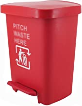 C-J-Xin Pedal-Type Trash Can, Large Creative Thickening Recycling Bins Playground Factory School Garbage Container Trash &...