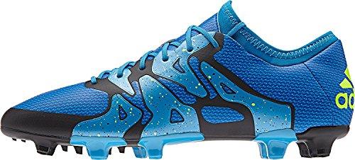 adidas X 15.1 FG/AG, B32783, Herren Fussballschuh, solblu/Yellow (10.5, blau-gelb)