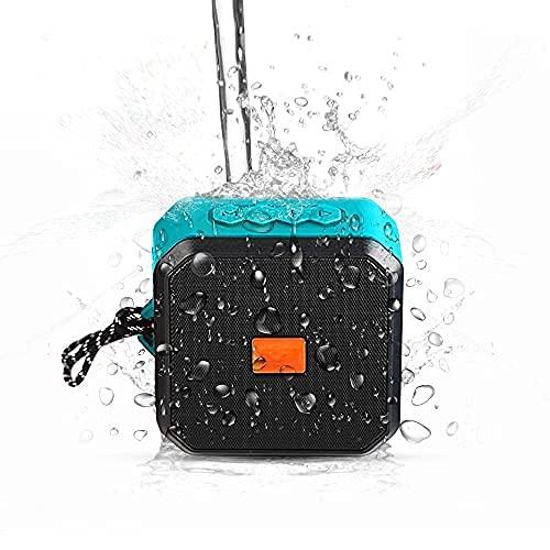 -Tek Styz IPX7 Speaker Works for Sonim XP3405 Shield with 13H Waterproof Playtime, Indoor, Outdoor Travel 1500mAh (Blue)