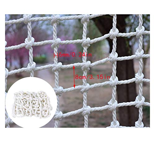 Filet de Protection Escalier, Filets De Sécurité for Le Bâtiment Filets À Bagages Filets De Protection for Escaliers for Enfants Filets Anti-chute for Balcon Filets for Décoration De Plafond Filets fo