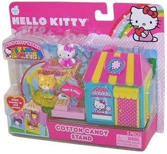 Hello Kitty World Stand Max 47% OFF Cotton Candy famous