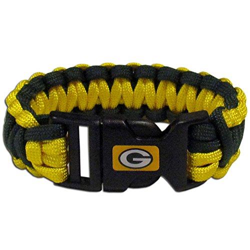 NFL Siskiyou Sports Fan Shop Green Bay Packers Survivor Bracelet One Size Team Color
