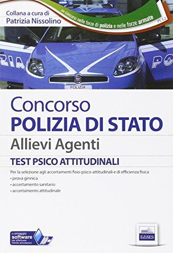 Concorso Polizia di Stato. Allievi agenti. Test psicoattitudinali