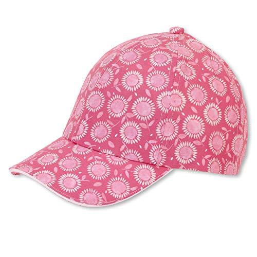 Sterntaler Baby-Mädchen Baseball-Cap 1422102 Baseballkappe, brombeer, 51
