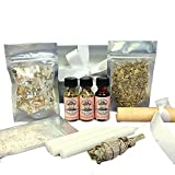 Purification 3 Spell Ritual Kit for Cleansing, Purifying & Banishing Negativity for Wiccan, Pagan, Conjure & Magic Rituals