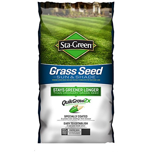 Sta-Green Sun and Shade Grass Seed 3-lb