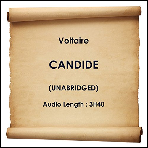 Candide audiobook cover art