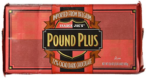 Trader Joe's Pound Plus 72% Dark Chocolate 17.6 oz.