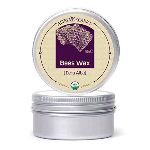 Alteya Organic Cera Abeja 120 gr – 100% Perlas Orgánicas