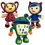 3pcs Team Umizoomi Plush Doll Toys for Kids Children,Team Umizoomi Toys