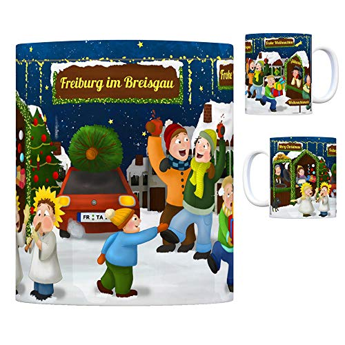 trendaffe - Freiburg im Breisgau Weihnachtsmarkt Kaffeebecher