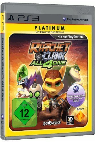 Ratchet & Clank - All 4 One [Platinum] - [PlayStation 3]