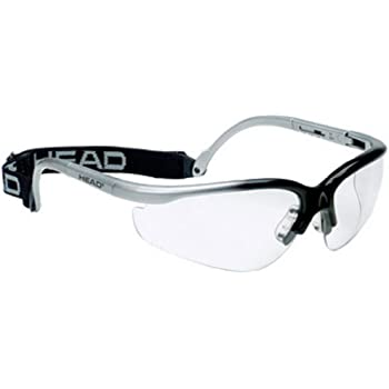 HEAD Racquetball Goggles - Pro Elite Anti Fog & Scratch Resistant Protective Eyewear w/ UV Protection