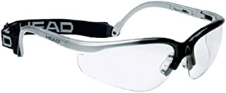 HEAD Unisex-Adult Racquetball Goggles 988007_BKSL, One Color, Adjustable