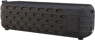 スピーカー ソーラー充電 20W Bluetooth Outdoor Speaker T6 防災 ワイヤレス 防水 自転車 スピーカー 固定 ベルト カラビナ付き iPhone Android (black)