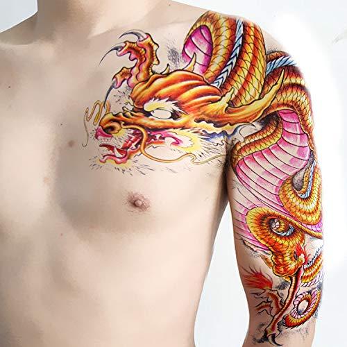 9pcs Tattoo Applique Arm Tattoo Aufkleber wasserdicht dauerhaften halben Arm Männer und Frauen Europa und Amerika Tattoo