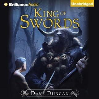 King of Swords audiobook cover art