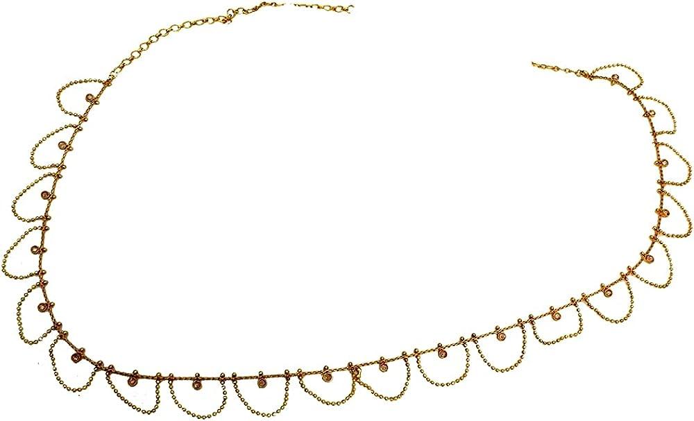 Glamorous Collection Indian Popular product Jewelry Waist Saree Gold Chain Ultra-Cheap Deals Sari