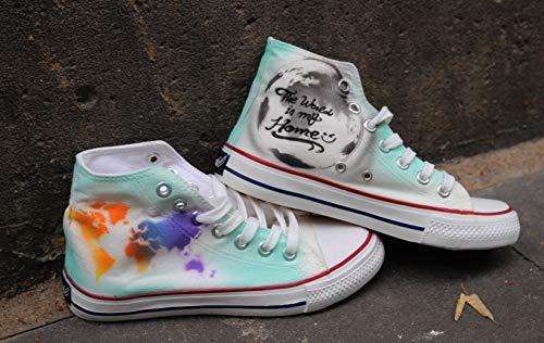 Dac Crew Airbrush Canvas Sneaker