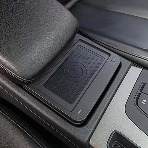 LYBH Cargador Inalámbrico para Automóvil para Audi Q5 Sq5 2016 2017 2018 2019 Qi Cargador Inalámbrico para Teléfono Placa De Carga Accesorios para Soporte De Teléfono: