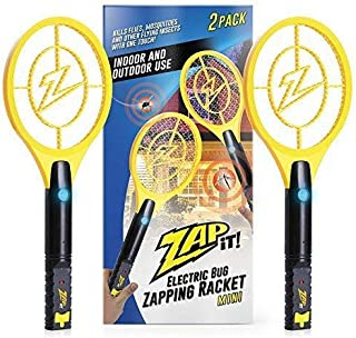 ZAP IT! Bug Zapper Twin Pack – Rechargeable Mosquito, Fly Killer and Bug Zapper..