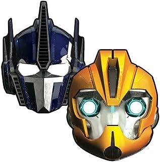 Amscan Transformers Party Masks 6 Pieces - 997769, Multi Color
