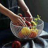 KICCOLY Cesta de frutero de mostrador, diseño Decorativo de
