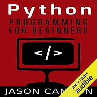 Python Programming for Beginners audiobook cover art