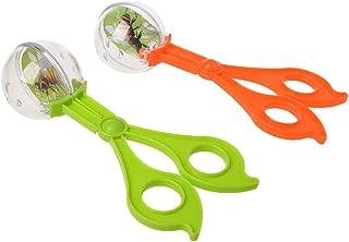 MEIYIN Plastic Bug Insect Catcher Scissors Tongs Tweezers for Kids Children Toy Handy