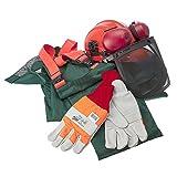 Makita 988.001.613 - X-large kit de seguridad motosierra - vis alta y verde