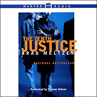 The Tenth Justice audiobook cover art