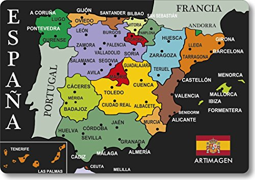 potente comercial imanes nevera ciudades espana pequeña