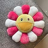 DZHTWSRYGR Plush Toysbest Quality New Cute Smiling Sunflower Pillow Soft Flowers Home Decoration Cushion