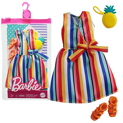 Barbie Conjunto Beach Feeling Mattel GRB98 | Moda de Muñeca