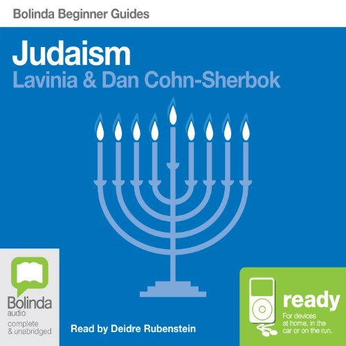 Judaism: Bolinda Beginner Guides audiobook cover art