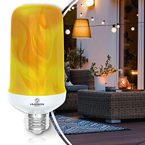 LED Flickering Flame Light Bulbs: E26 Standard Base Flame...