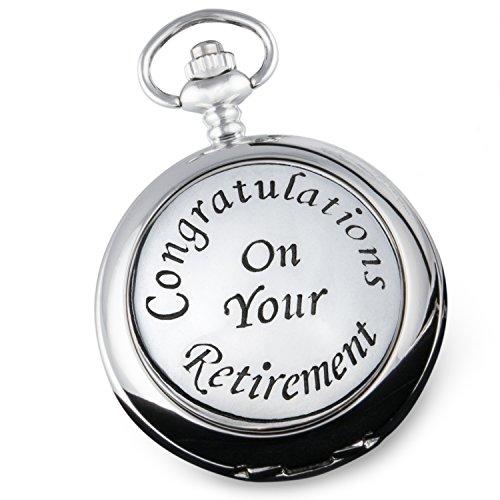 Herren-Taschenuhr für den Ruhestand, Geschenk für Großvater, Väter