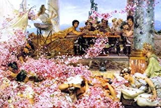 Art Oyster Sir Lawrence Alma-Tadema The Roses of Heliogabalus - 18.05