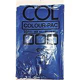 日本技研工業 カラーパック 45L 10枚 ブルー