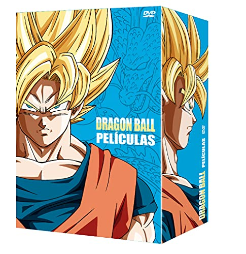 Dragon Ball & Dragon Ball Z Las Películas. Colección Completa DVD