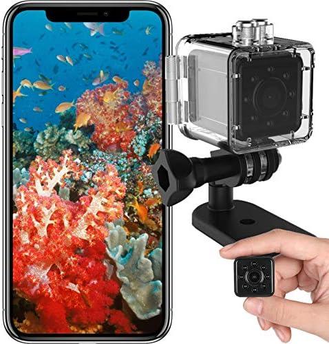 SUWOZYAN Mini WiFi Sports Camera Waterproof DV Camcorder 1080P Night Vision Small Wireless Action product image