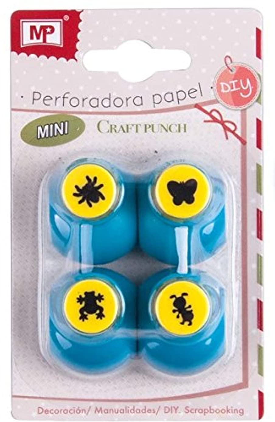 MP pm927?–?2?Hole Punch Paper Mini, Pack of 4
