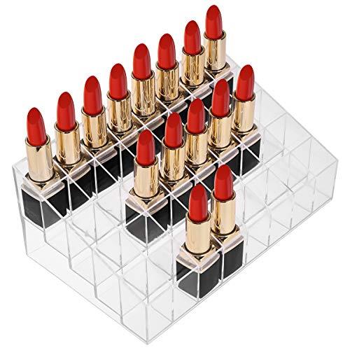 Benbilry 40slot acrilico rossetto organizzatore display Holder