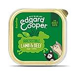 Edgard & Cooper Comida humeda Gatos Adultos sin Cereales, Natural con Ternera y Cordero Frescos. Comida Sana Rica en… 6