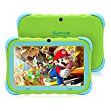 Surfans Kids Tablet, 2GB RAM 32GB ROM, 7 inch IPS HD Eye Protection Display, WiFi Camera and Kids-Proof, Android Tablet for Toddlers