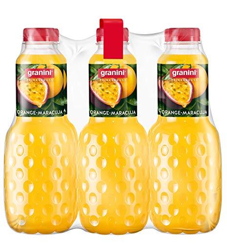 granini Trinkgenuss Orange-Maracuja, 6er Pack (6 x 1 l Flasche)